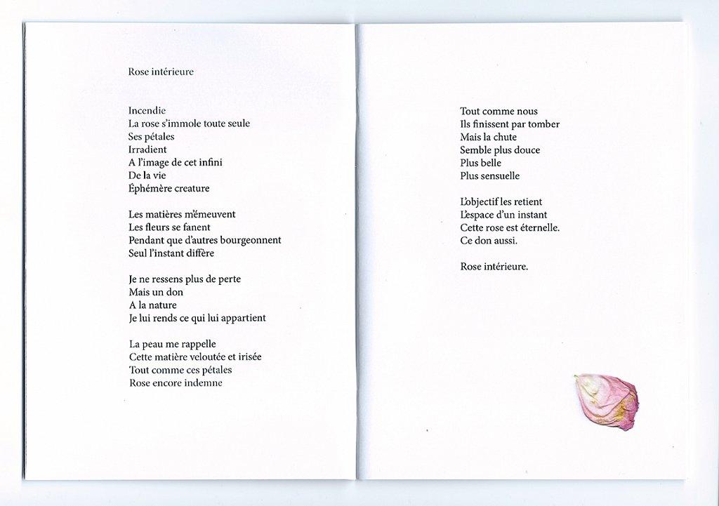 Rose intérieure poème